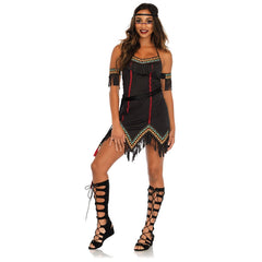 Leg Avenue Tiger Lily Indian Squaw Costume