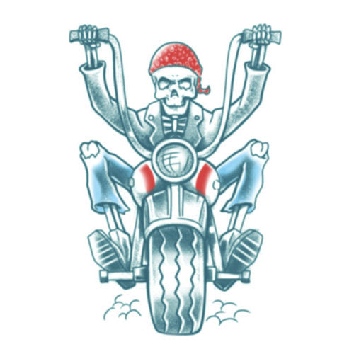 Tinsley FX Temp Tattoo - Biker
