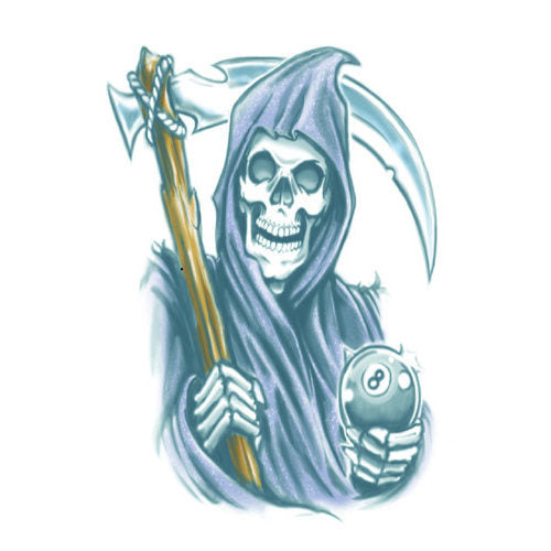 Tinsley FX Temp Tattoo - Reaper