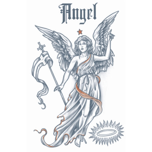 Tinsley FX Temp Tattoo - 1910 Angel