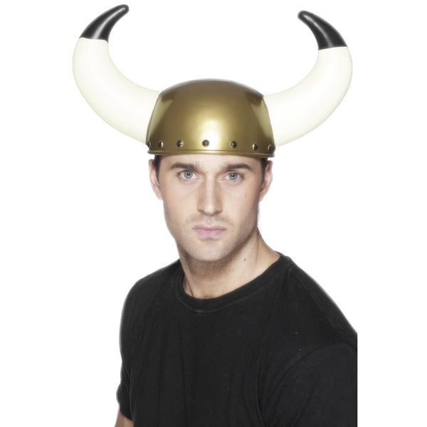 Viking Helmet with Large Horns Adult