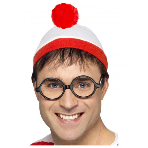 Where is Wally Hat and Glasses