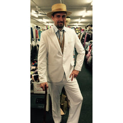 White Gatsby Suit - Hire