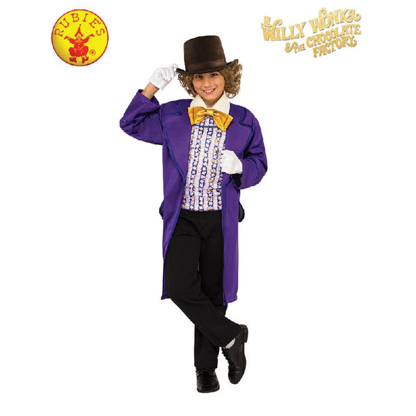 Willy Wonka Deluxe Costume - Child