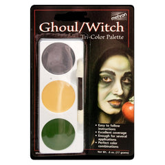 Ghoul/Witch Make Up Kit - Mehron