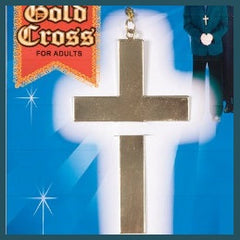 Gold Cross Necklace in Metal