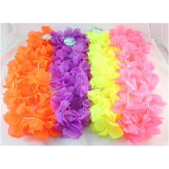Assorted Neon Coloured Lei