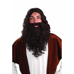 Biblical Wig & Beard Set
