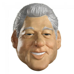 Adult Deluxe Latex Mask Bill Clinton President United States