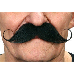 Moustache - Black Handlebar