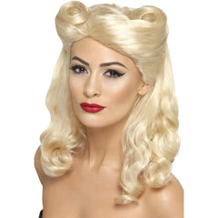 Blonde 40s Pin Up Wig