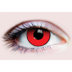 Primal Contact Lenses - Blood Eyes - Red with Black Rim