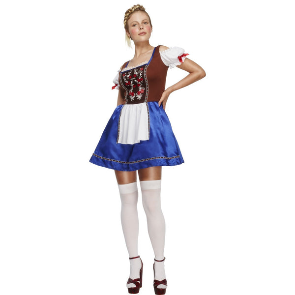 Dirndl Brown and Blue Costume