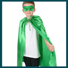Super Hero Cape and Mask - Assorted Colors