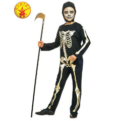 Boys Printed Skeleton Costume