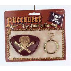 Buccaneer Eye Patch & Earring