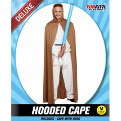 Brown Hooded Cape - Child