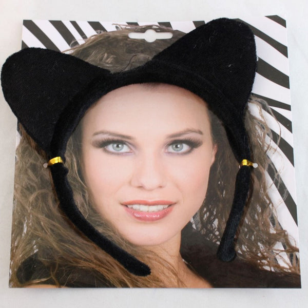 Black Cat Headband