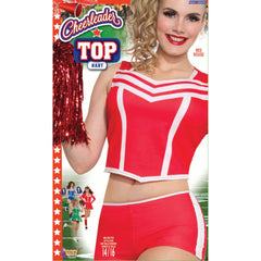 Cheerleader Red Top-Ladies