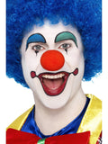 Wig-Blue Clown