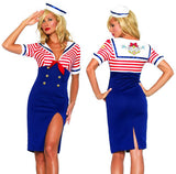 Deckhand Diva Ladies Sailor Costume - Hire