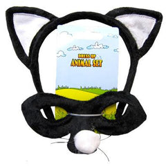 Cat Headband & Mask Set