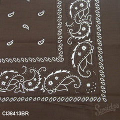 Cowboy Bandana - Brown