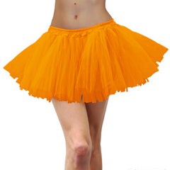 Tulle Tutu Adult-Fluro Orange