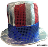 Glitzy Uncle Sam Hat