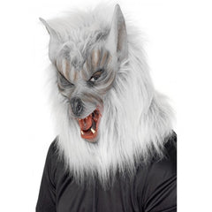 Wolf Mask - Silver