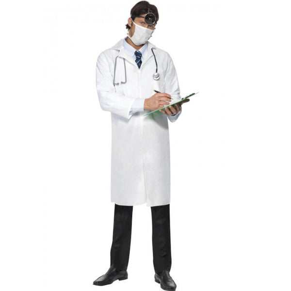 Doctor Coat and Mask Costume