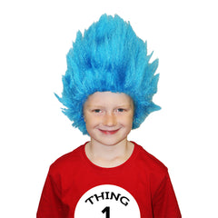 Creepy Thing Blue Wig - Child