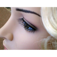 Eyelashes-Black Criss Cross