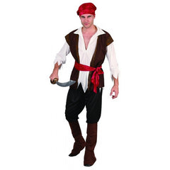 Pirate Costume-Mens