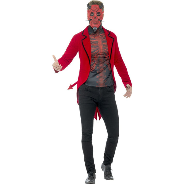 Day of the Dead Devil Costume - Mens