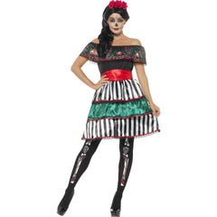 Day of the Dead Senorita Doll