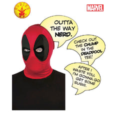 Deadpool Deluxe Mask with Speech Bubble