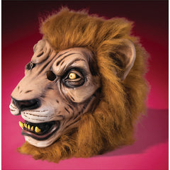 Deluxe Lion Mask with Fur