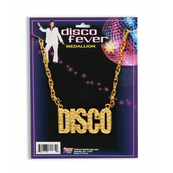 Disco Fever Gold Necklace