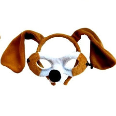 Dog - Headband & Mask Set
