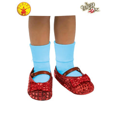 Dorothy Sequin Shoe Covers - Child