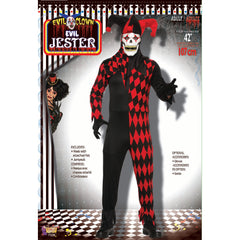 Evil Jester with Mask - Adult