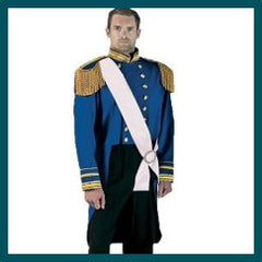 Blue Prince Charming Costume - Hire