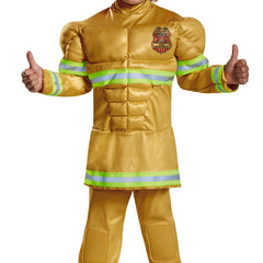 Fearless Fireman Boys Costume