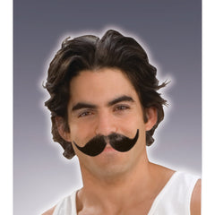 Full Winged Moustache - Black