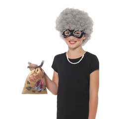 Gangsta Granny Instant Kit - Wig & Glasses