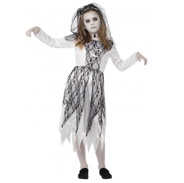 Ghostly Bride Costume - Girls