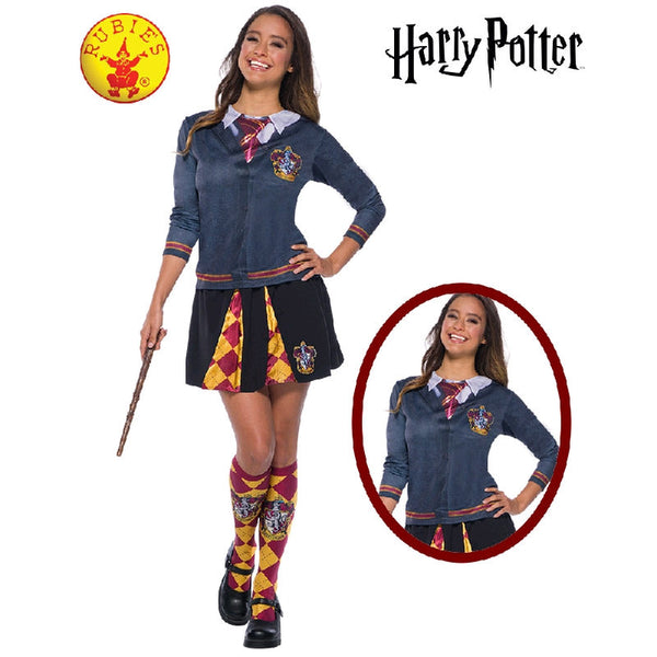 Gryffindor Costume Top - Adult