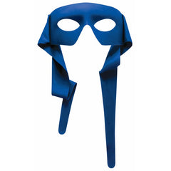 Super Hero Eye Mask in Blue, Red, Green, Yellow and Purple
