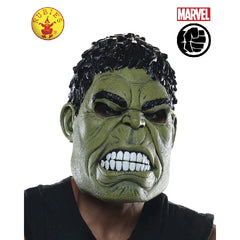 Hulk 3/4 Mask - Adults